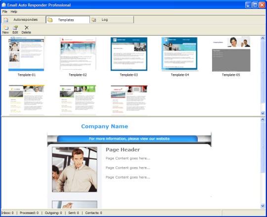Email Autoresponder - HTML Templates