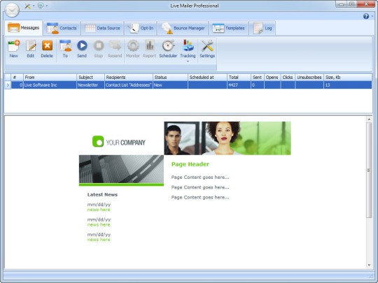 Free Bulk Email Sender - Mass Email Software